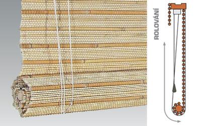 Bambusrollos