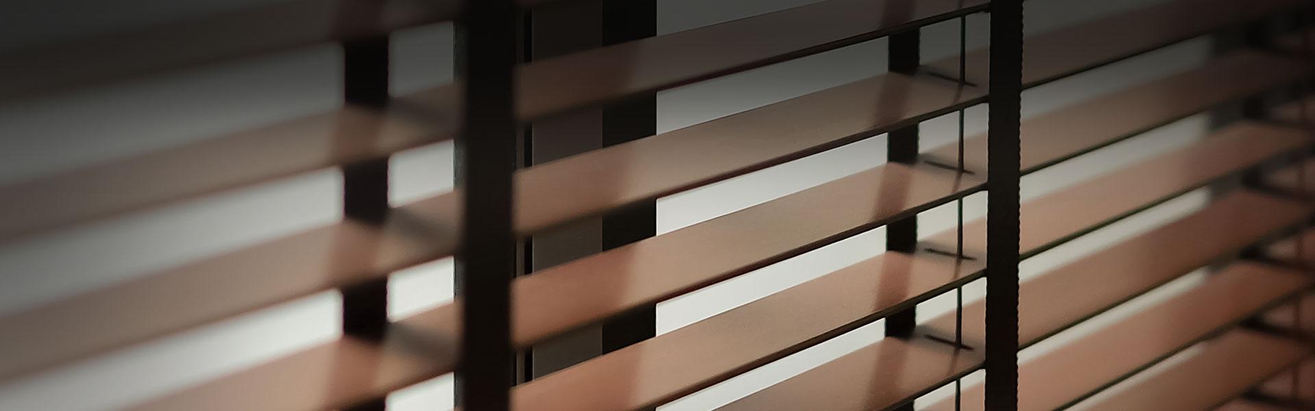 Dřevěné žaluzie 50mm Retro